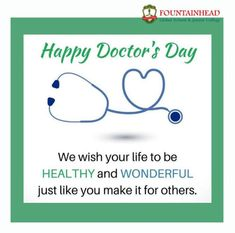 Happy Doctors Day, Like You, Wish, College, School, University, Colleges