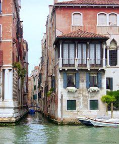 Grand Canal Palazzo Falier, Venice, Italy