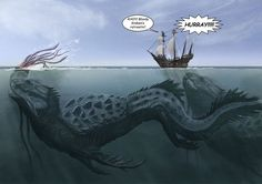 """Googled """"Leviathan"""", was not disappointed"""
