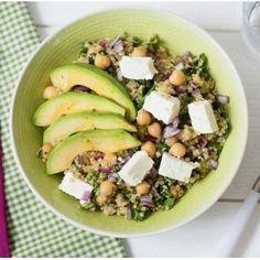 Plats Quinoa, Quinoa Salat Feta, Plat Vegan, Buddha Bowl, Cobb Salad, Entrees, Smoothie, Paleo, Good Food