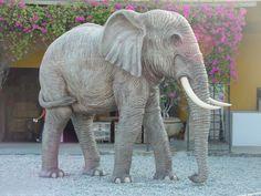 Elephant Statue Life Size
