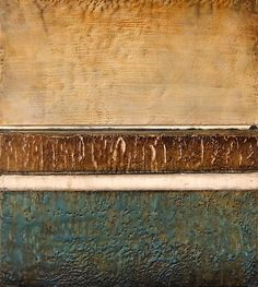 Neutrals #30, encaustic and mixed media by Jeff Juhlin at a Scottsdale art gallery