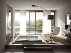 Bagno in camera - Vasca da bagno a 2 posti