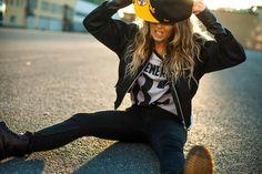Swag girl #on# a way