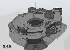 ArtStation - Halo 5 Environments, Justin Oaksford Game Environment, Environment Concept Art, Environment Design, Shape Design, Game Concept, Fantasy Landscape, Space Engineers, Cool Sketches, Surface Design