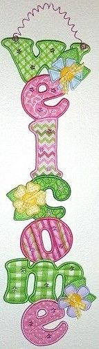 Signs of Spring (PJ1090) Embroidery Design Collection by PJ Designs