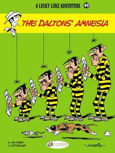 Lucky Luke 49: The Daltons' Amnesia