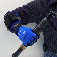 GM, NASA jointly developing robotic gloves for human use, designed to allow the wearer to hold a grip longer and more comfortably.