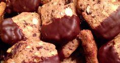 Schokoladen-Nuss-Plätzchen