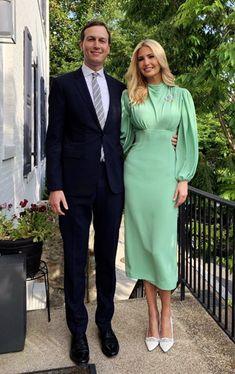 Elegant Outfit, Classy Dress, Classy Outfits, Elegant Dresses, Beautiful Dresses, Ivanka Trump Style, Ivanka Trump Dress, Ivanka Trump Outfits, Modest Fashion