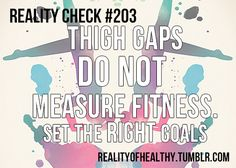 Reality Check #203 There are some blogs out there that use the space...