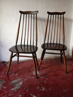 Ercol Goldsmith Dining Chairs In Traditional by EraBrighton