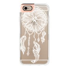 White transparent boho ethnic hand drawn lace dreamcatcher and... ($50) ❤ liked on Polyvore featuring accessories, tech accessories, phone case, iphone case, iphone cases, iphone cover case, transparent iphone case, apple iphone cases and white iphone case