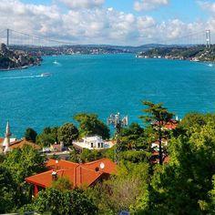 Прекрасный вид на пролив Босфор #Стамбул #Босфор River, Outdoor, Outdoors, Rivers, The Great Outdoors