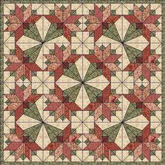 Pattern Quilting Quilt