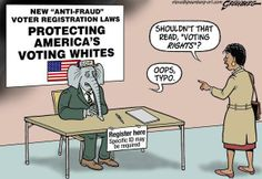 Protecting America's voting whites | Oops ~