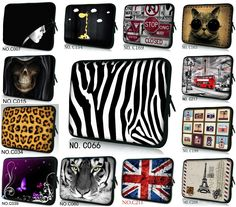 """10"""" Colorful Laptop Sleeve Bag Case Pouch For Samsung Galaxy Note 10.1"""" Tablet /ASUS Transformer Book T100/T100TA"""