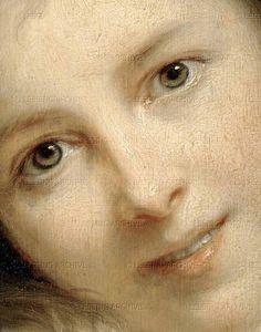 Self-portrait with her daughter Julie (detail), Elisabeth-Louise Vigee-Le Brun, 1786