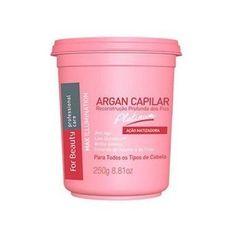 Btox Capilar Max Ilumination Argan Oil Platinum For Beauty 250g