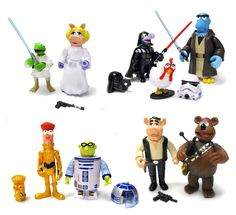 Star Wars Muppets Figures