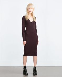 ZARA - COLLECTION SS16 - FITTED DRESS