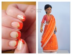 Doll Challenge: Indian Nails by RobertsPhotography
