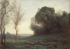 Camille Corot: Morning (1855-65)