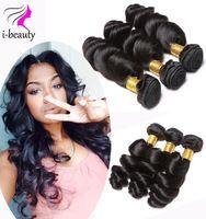 Malaysian Loose Wave Virgin Hair 3 Bundles 100% Human Hair Extensions Virgin Malaysian Hair 7A Unprocessed Virgin Hair Bundles
