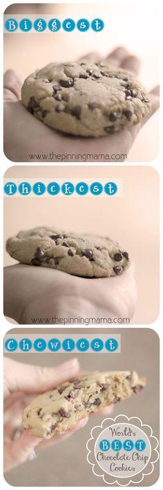 Copycat Panera Chocolate Chip Cookies | The Pinning Mama
