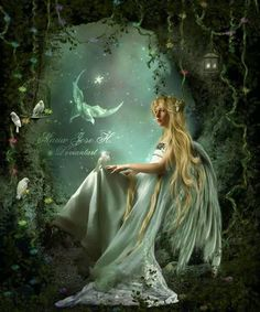 DeviantArt is the world's largest online social community for artists and art enthusiasts, allowing people to connect through the creation and sharing of art. Fairy Dust, Fairy Land, Fairy Tales, I Believe In Angels, Believe In Magic, Fantasy World, Fantasy Art, Fantasy Fairies, Dragons