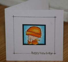 Framed Baby by mayodino - Cards and Paper Crafts at Splitcoaststampers