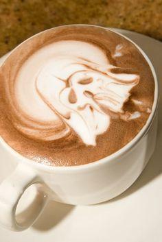 Star-wars Latte Art