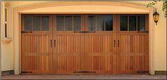 Wood Garage Door Gallery - NationServe of Kennewick