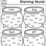 March Kindergarten Worksheets - Planning Playtime
