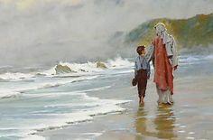 Walking with Jesus Brian Jekel artist