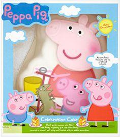 Pig Birthday Cake Asda