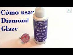 http://conideade.com, te presenta como usar Diamond Glaze, ejemplos y consejos de uso de este producto que sirve como adhesivo, como resina dimensional o com...