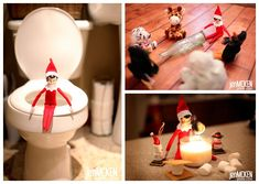 Some of the BEST Elf on the Shelf ideas EVER