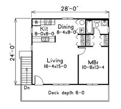 images about house disigns on Pinterest   Floor Plans  Small    First Floor Plan of Cabin House Plan