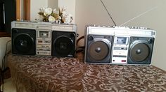 SHARP GF-9696 AND GF-9494 BOOMBOXES