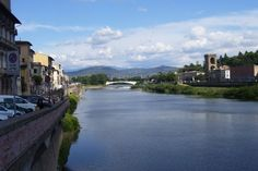 On the Arno in Florence, Italy