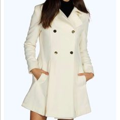 GUESS Double Breasted Bouclé Coat (Regular & Petite) available at ...