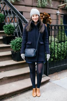 J Crew Cocoon Coat - The College Prepster