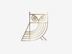 Quite like the art deco owl!