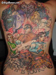 'Buffy the Vampire Slayer' Body Ink #tattoos trendhunter.com