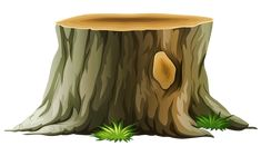 Tree Stump PNG Clipart Picture