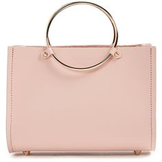 Future Glory Co. Rockwell Mini Bag (4.762.235 IDR) ❤ liked on Polyvore featuring bags, handbags, pink, leather man bags, pink leather purse, man bag, real leather handbags and genuine leather purse