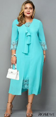 Classy plus size dresses, cozy curvy dress up to 65% OFF! Shop it now!