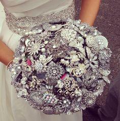 Bouquet wedding brooch bouquet