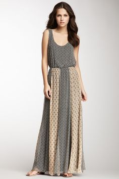 Ella Moss Sleeveless Silk Maxi Dress